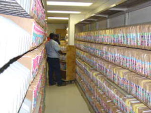Arrow T&S offers document management services to include storage and digitization